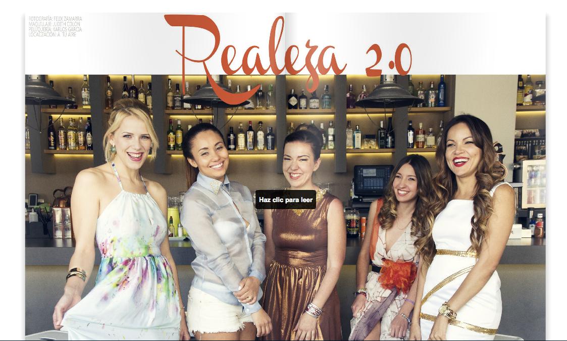 Revista Digital, Realeza 2.0