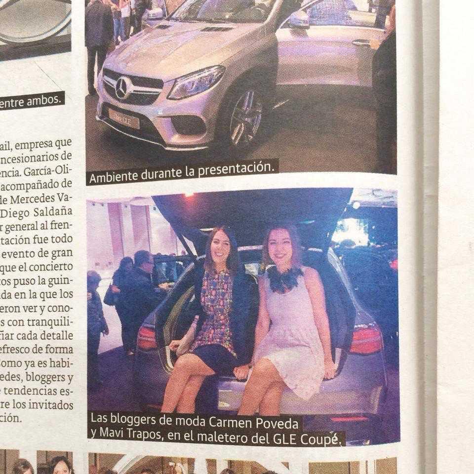 En la presentación de los nuevos modelos de Mercedes Benz