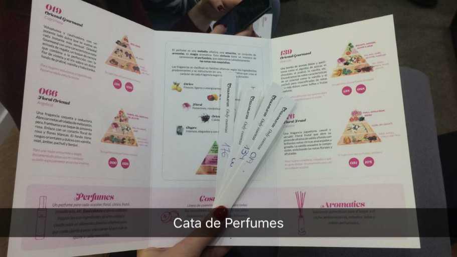 cata de perfumes