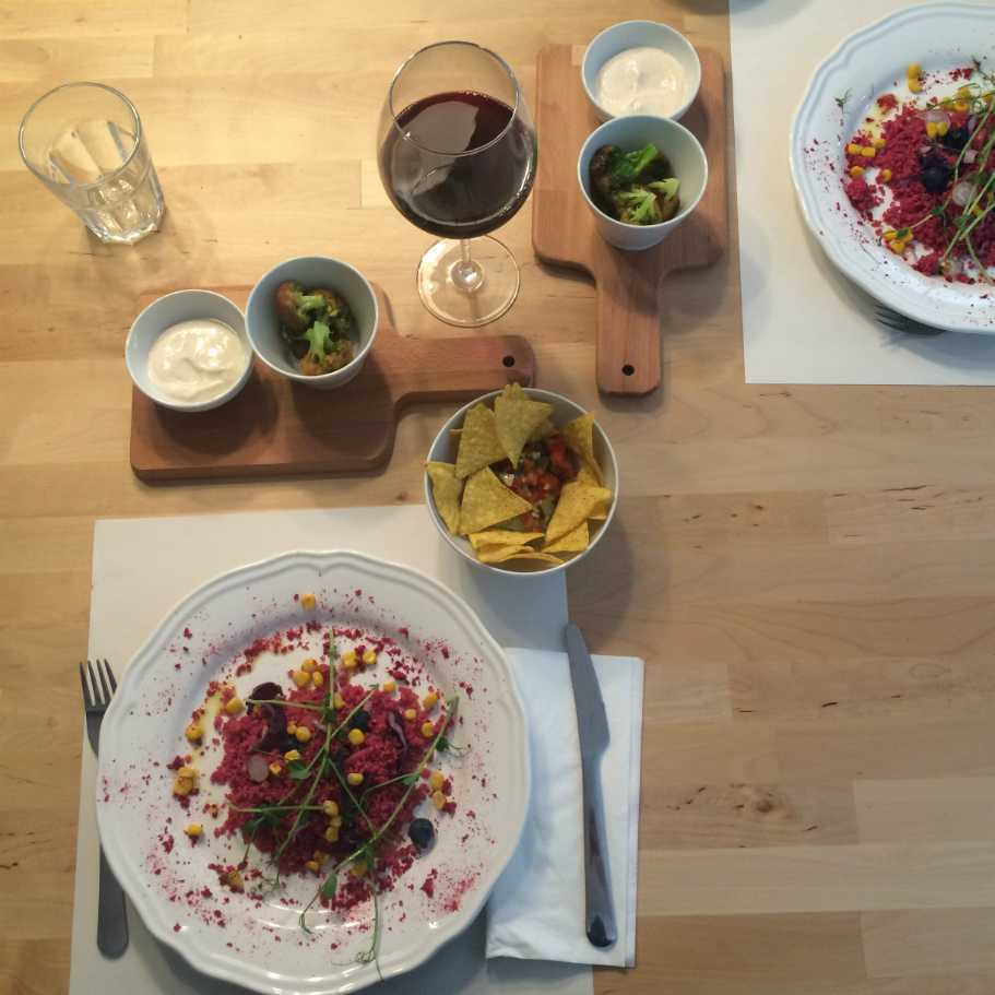 comida ecologica sana y buena