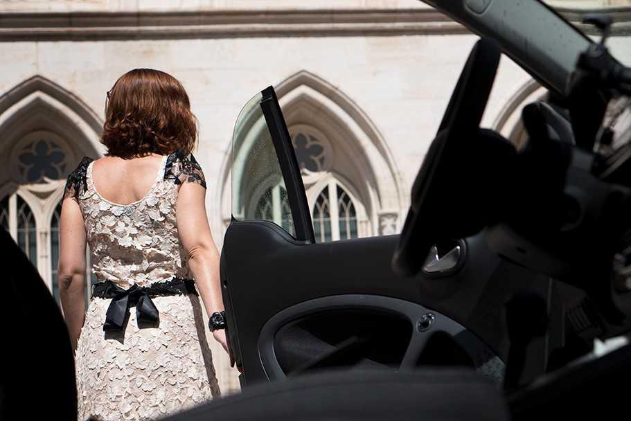 espalda de vestido