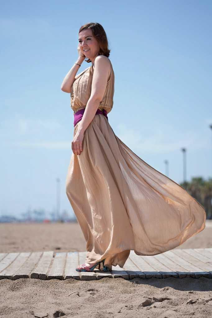 vestido largo para verano