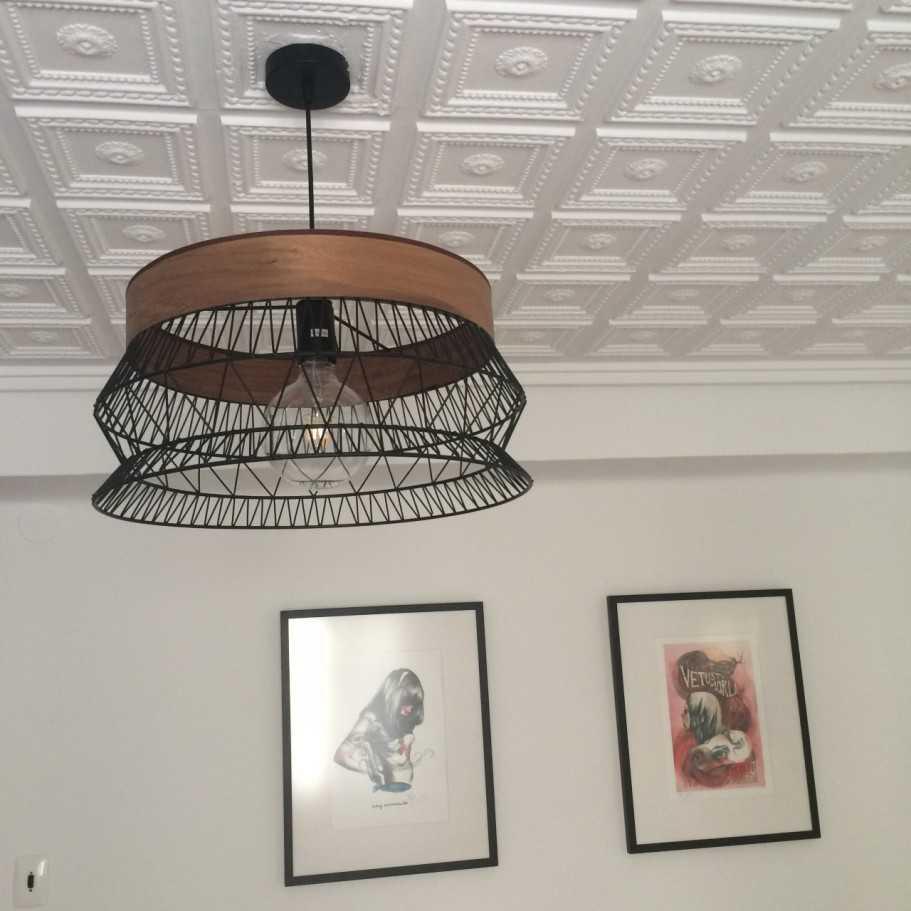 lámpara de techo decoración del salón