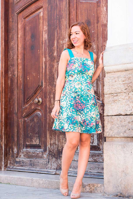 vestido diseño español