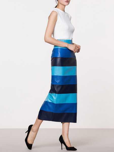 comfy midi skirt