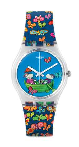 reloj Swatch San Valentín