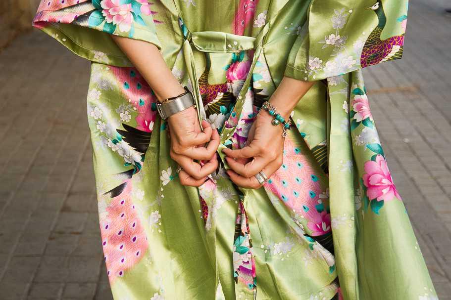 Kimono de seda China