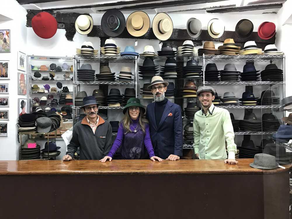 colección de sombreros