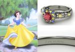 Anillos de compromiso de la princesas Disney