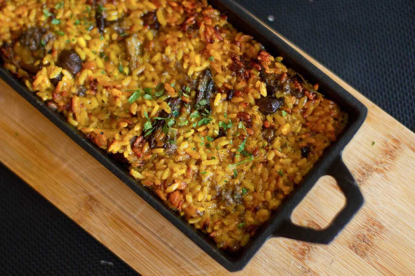arroz clectic