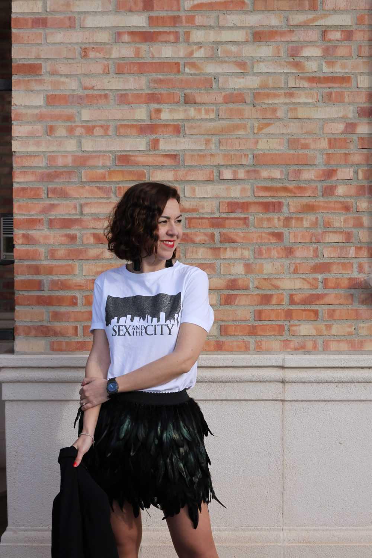Camiseta con Falda