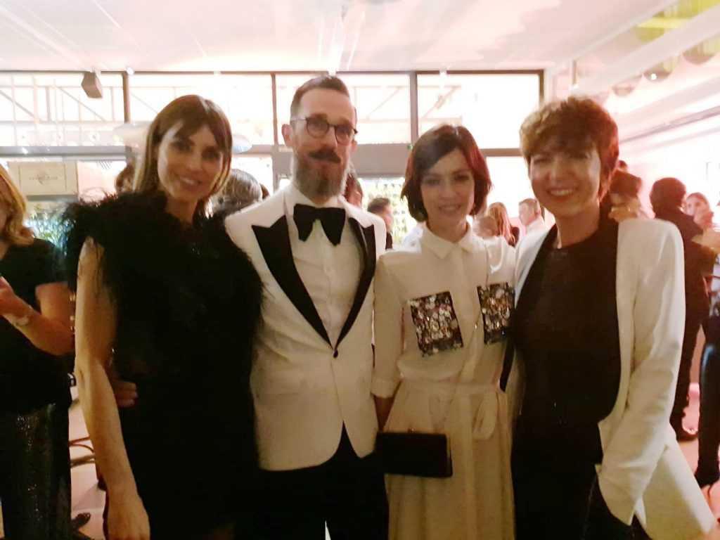 Con Verónica Sanchez e Irene Arcos
