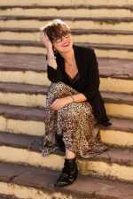 Falda midi animal print: nuevo look.