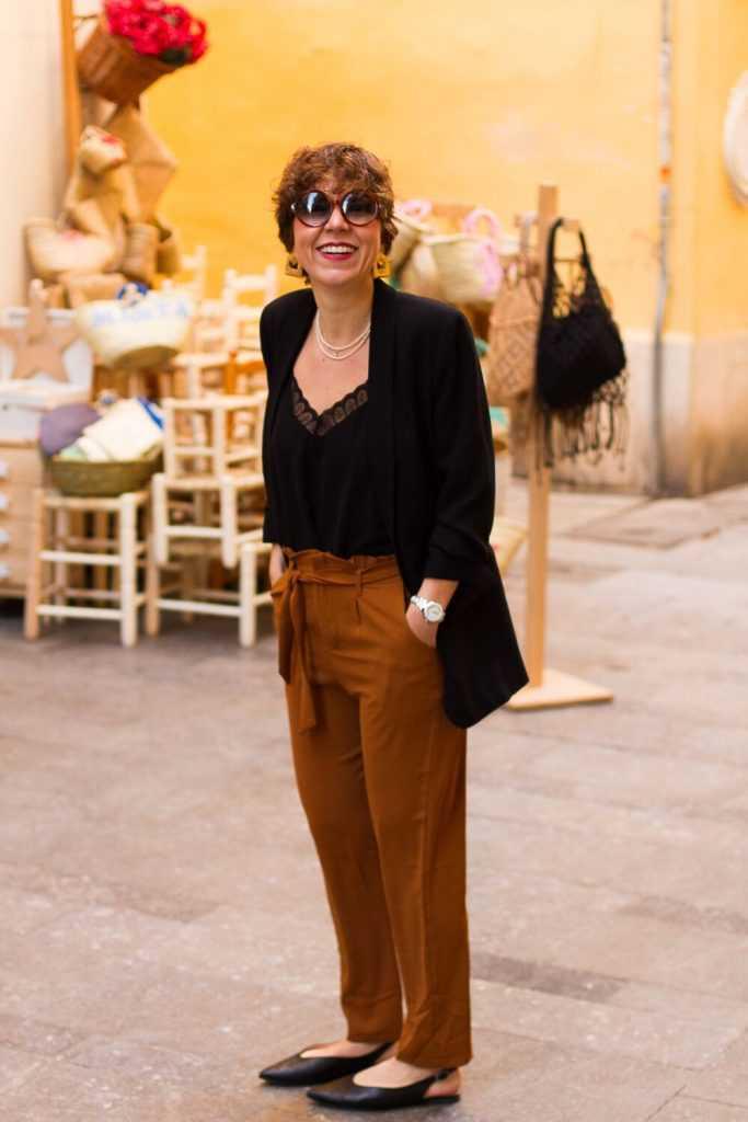 blogger moda valencia pantalones anudados