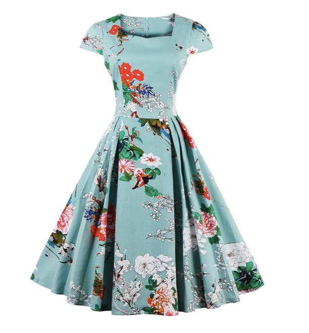 vestidos primaverales
