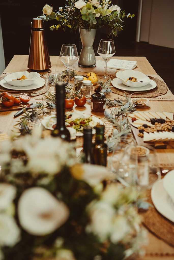 mesa decoración provenzal