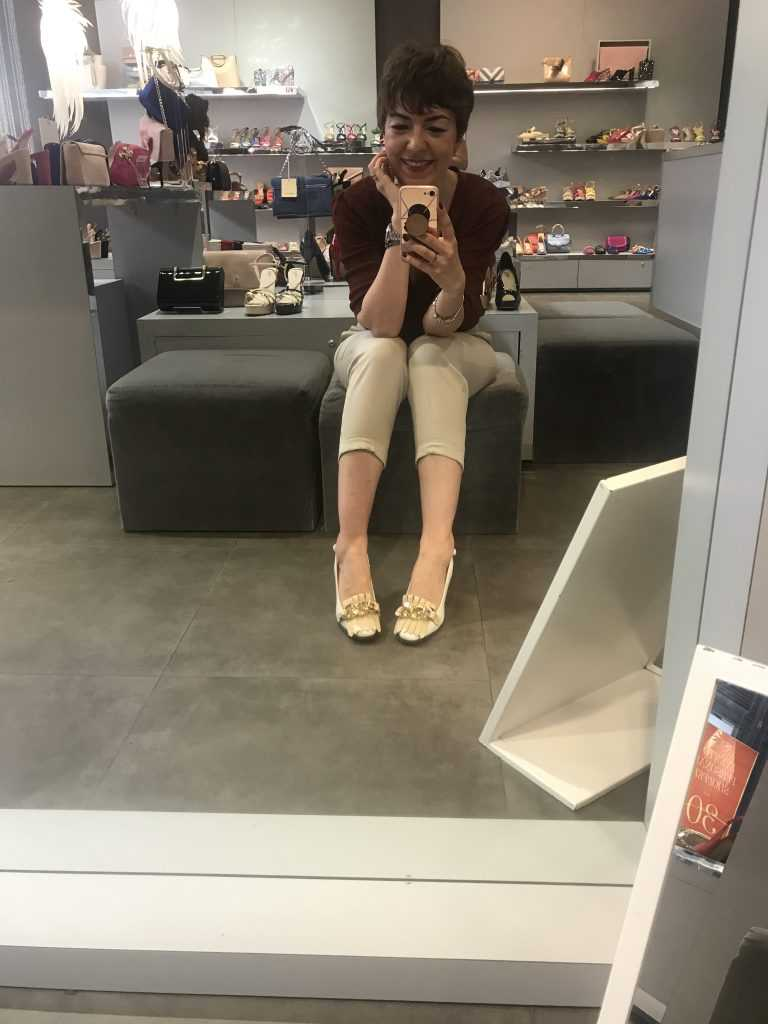 Un ratito de descanso en el evento Personal Shopper en Menbur