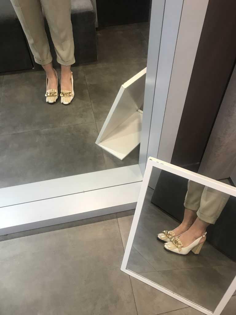 Estos zapatos me enamoraron nada más verlos y por supuesto, se vinieron a casa