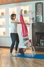 Práctica de Pilates con Lourdes Herreros.