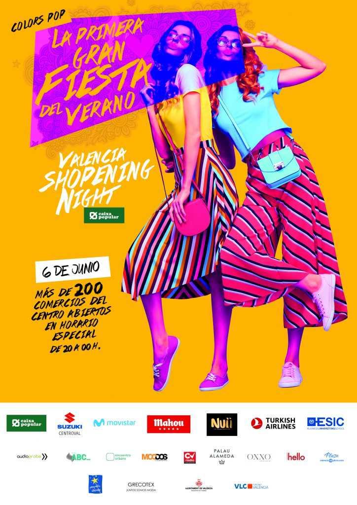 Vuelve Valencia Shopening Night Primavera 2019