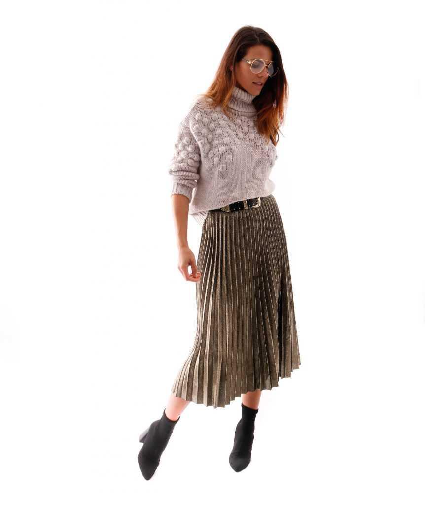 falda-midi-metalizada