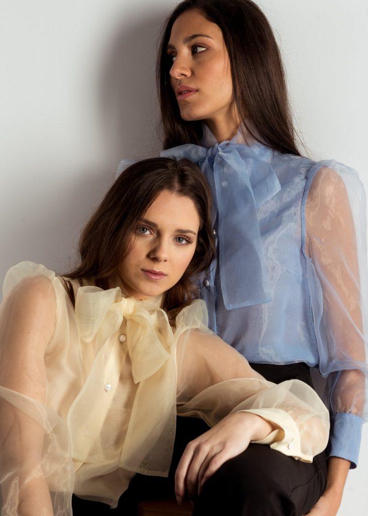 blusas y camisas de organza