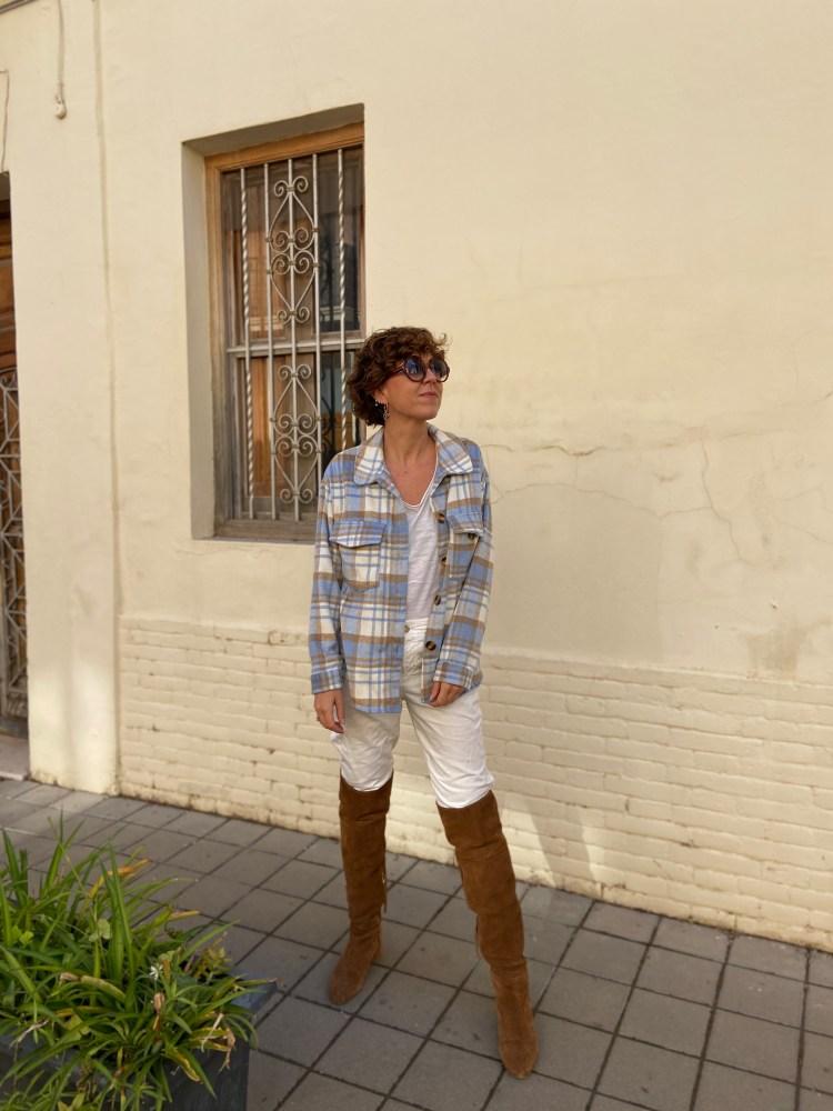look_camisa_cuadros